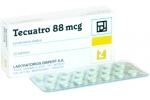 TECUATRO  88 MCG
